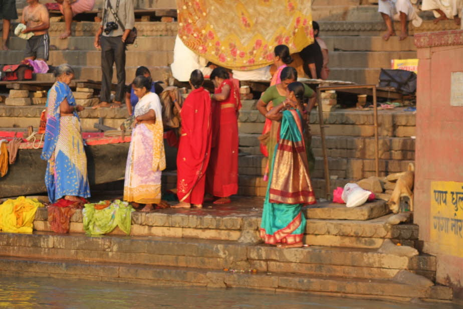 Dashashwamedh Ghat am Ganges