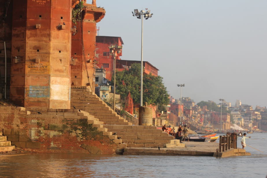 Varanasi: am Ganges